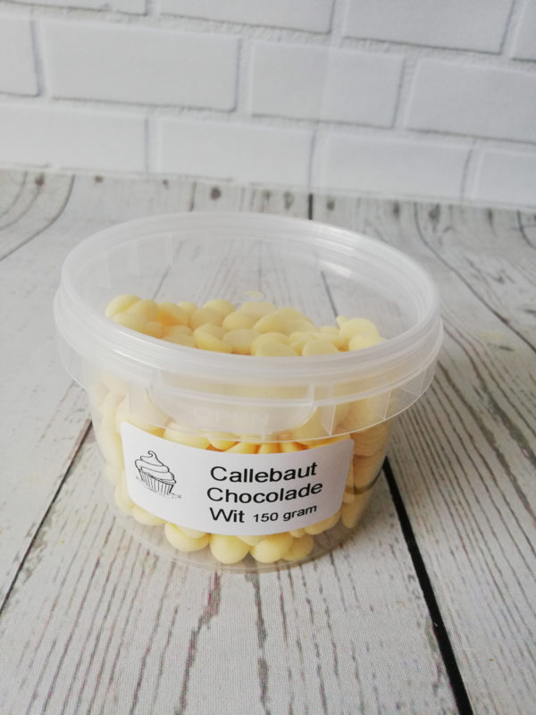 callebaut chocolade callets wit 150 gram