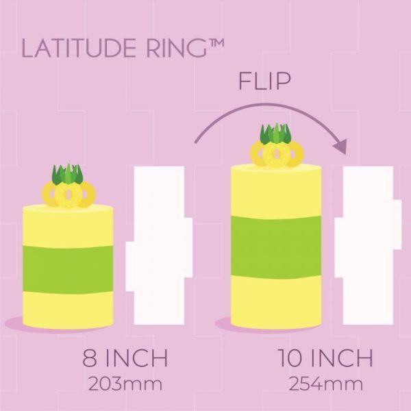 pme acrylic side scraper latitude ring 20-25 cm 2