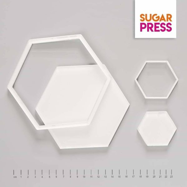 sugar Press frame it hexagon