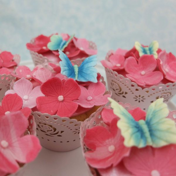 blossom sugar art Butterfly Multi Set 6