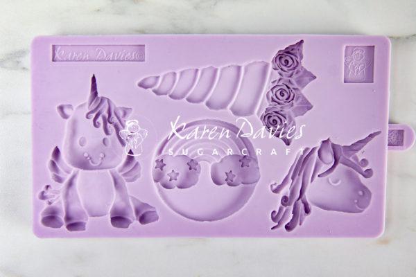 karen davies unicorn cookie mould 1
